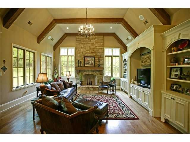 Check out the beautiful fireplace in this home at 77 Monterey Oaks Cv, Eads, TN 38028