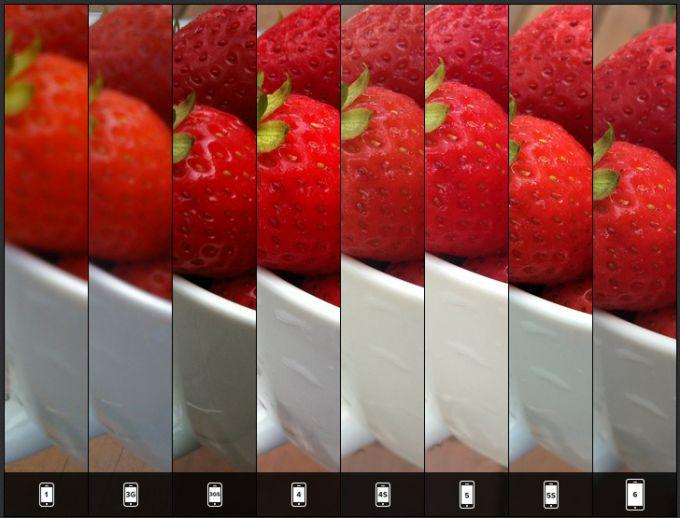 Inilah Perbandingan Hasil Kamera pada iPhone Pertama Hingga iPhone 6