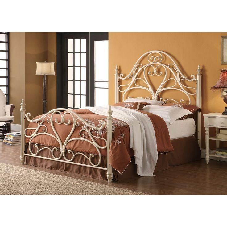 coaster company white metal queen bed queen bed