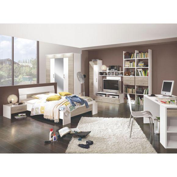 Helles Jugendzimmer: Stauraum Und Funktionalität Im Besten Design