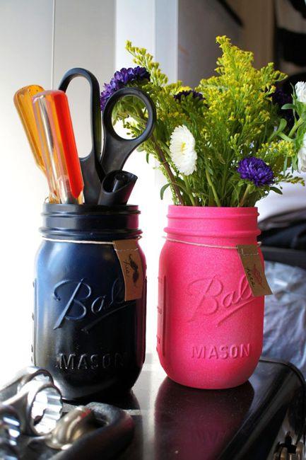 His & Hers Mason Jars