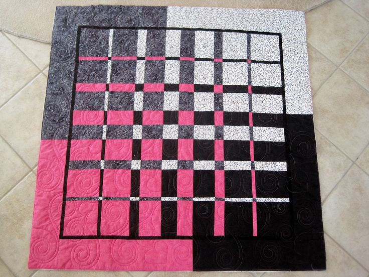 Ricky timms convergence Finely Finished Quilts: July 2012. Love the solids look.