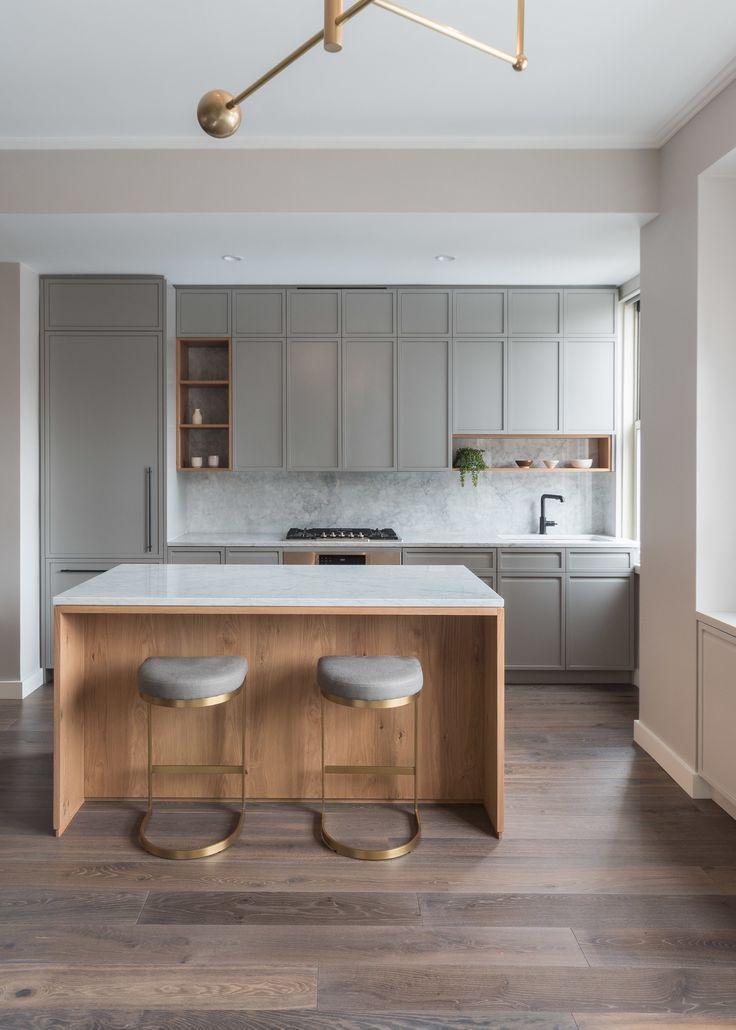 Idée décoration intérieure maison – déco delicacies ouverte avec îlot central …
