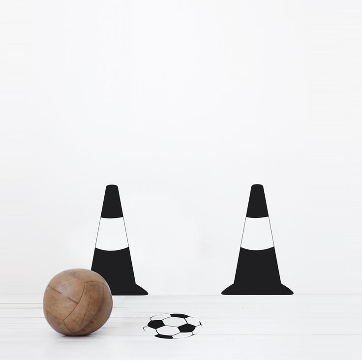 — ferm LIVING - Football game - wall sticker