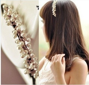 headband hair style fashion korean style pearl headband hair accessories free 9131