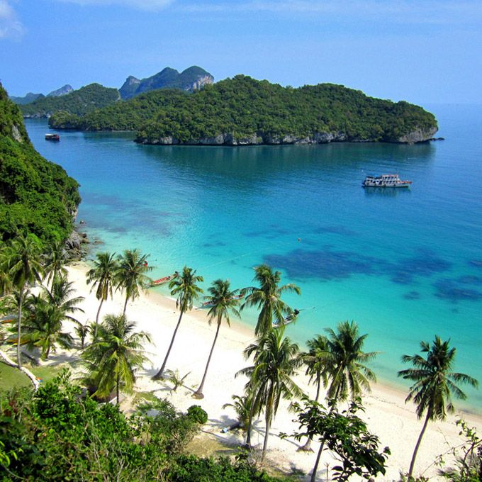 Angthong Marine Park: everything to know about booking (and enjoying) a day trip // #Samui #Angthong #Thailand // http://www.kohsamuisunset.com/angthong-marine-park/
