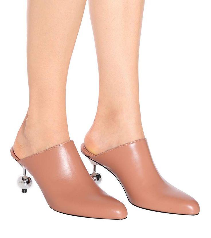 Marni - Leather mules | mytheresa.com