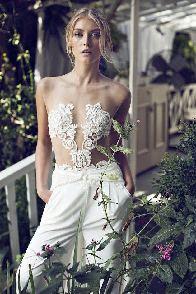 Riki Dalal 2014 Wedding Dress Collection | Sheer Sexy Wedding Dresses | Bridal Musings Wedding Blog 20