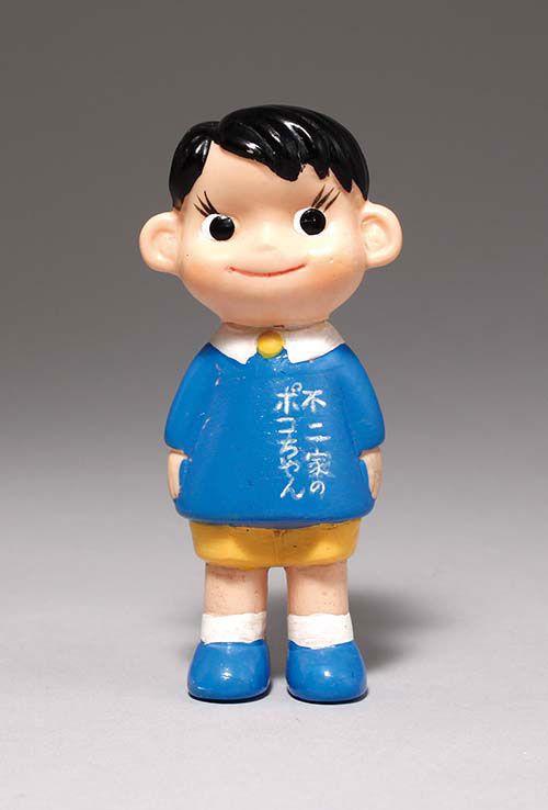 不二家 園児服を着たポコちゃん人形