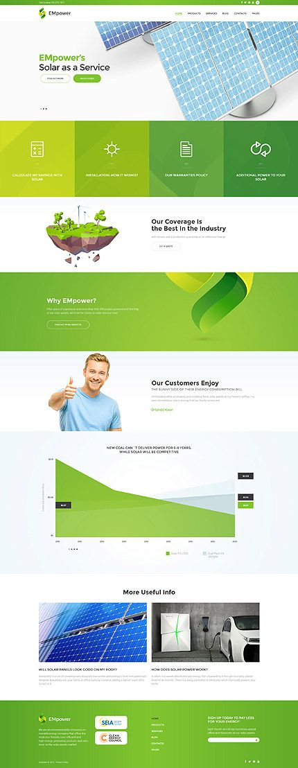 Most Popular Alternative Power website inspirations at your coffee break? Browse for more WordPress #templates! // Regular price: $75 // Sources available:.PHP, This theme is widgetized #Most Popular #Alternative Power #WordPress