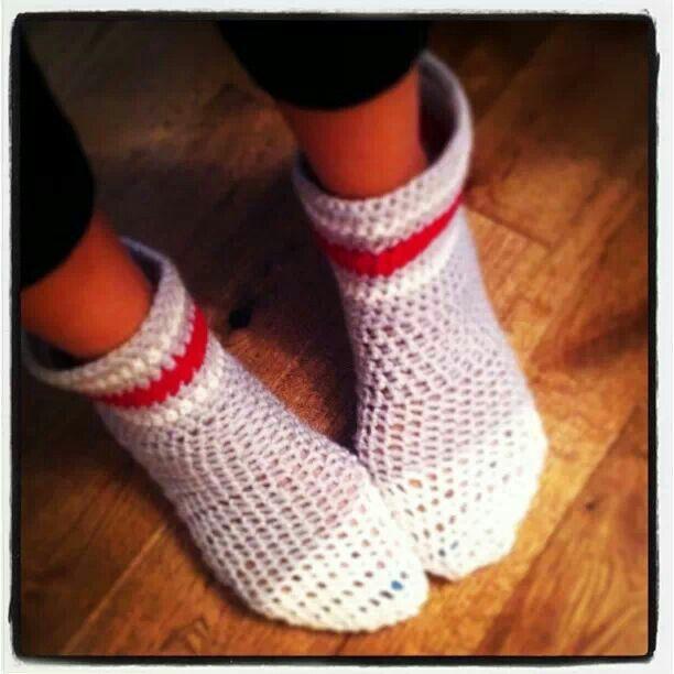 Work sock slippers