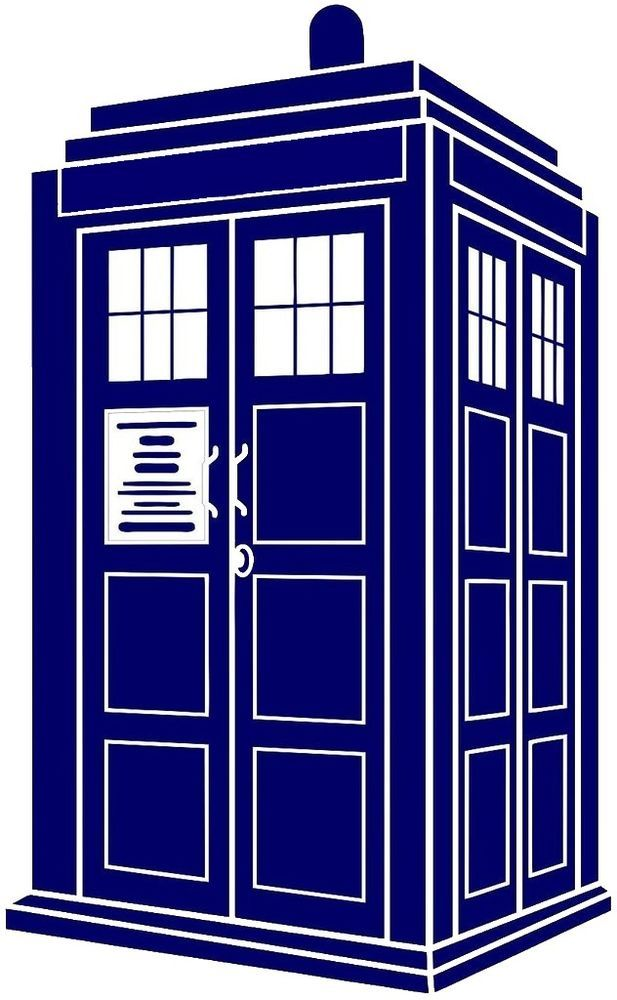 Tardis Police Call Box Vinyl Decal Sticker Inspired by Doctor Who #Unbranded