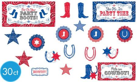 Western Party Supplies - Western Theme Party - Party City