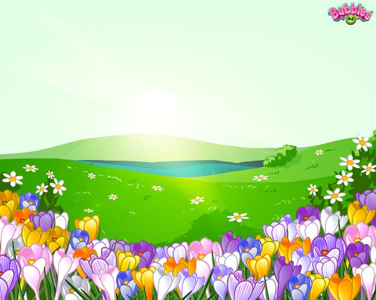 Spring theme. Check out our latest backgrounds & themes and join the bubble poppin' fun! Play #BubblesIQ: www.bubblesiq.com