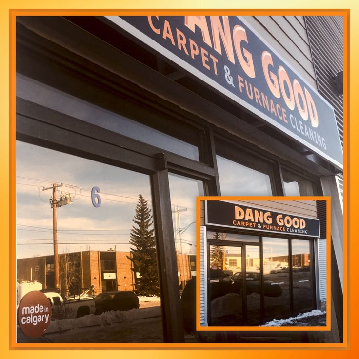 Our new shop front where we proudly display our #madeincalgary sticker.
