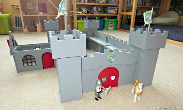 How To Make A Diy Castle Playmobil Lego And Encouragement