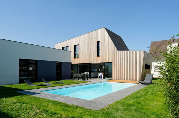 House in Colmar France by ideaa architectures 26
