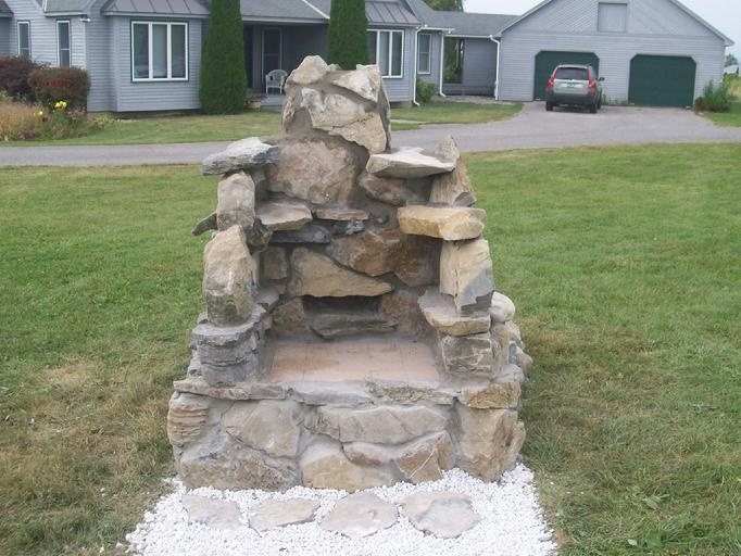 1000 images about field stone projects on pinterest fire pits stone fireplaces and stone - Outdoor stone ovens ...