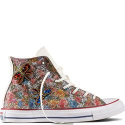 Womens Converse Chuck Taylor All Star Jewelled Butterfly High Top Multicolor