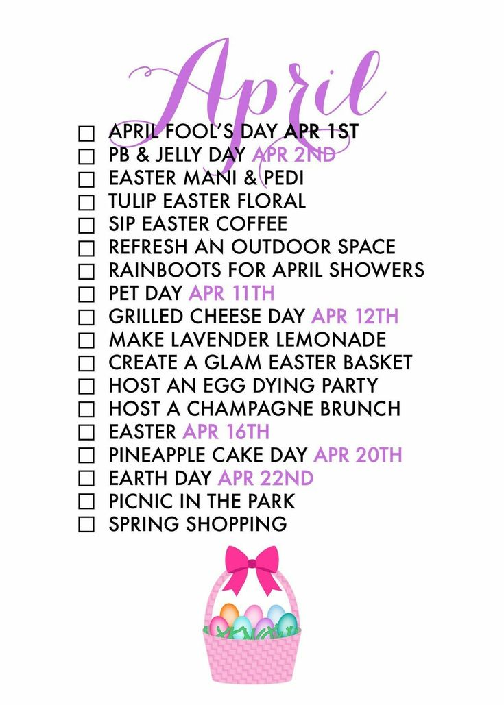 April Life List