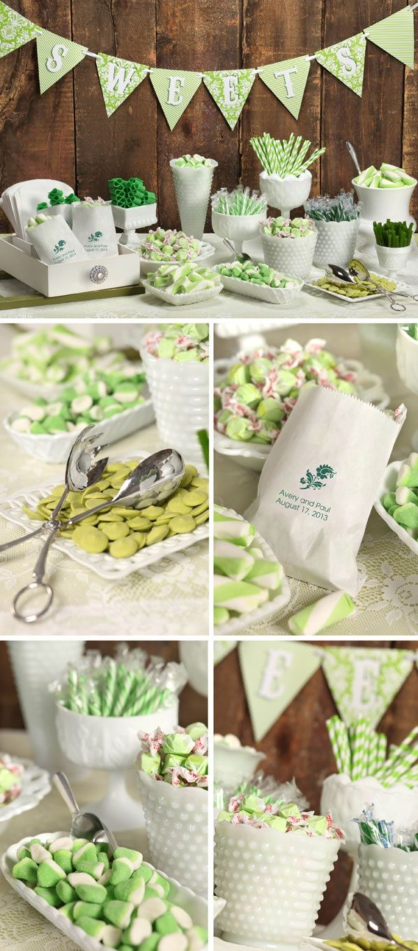 Wedding Reception Candy Bar Ideas | Bargain Challenge: Creating a Cheap Candy Buffet for your Wedding