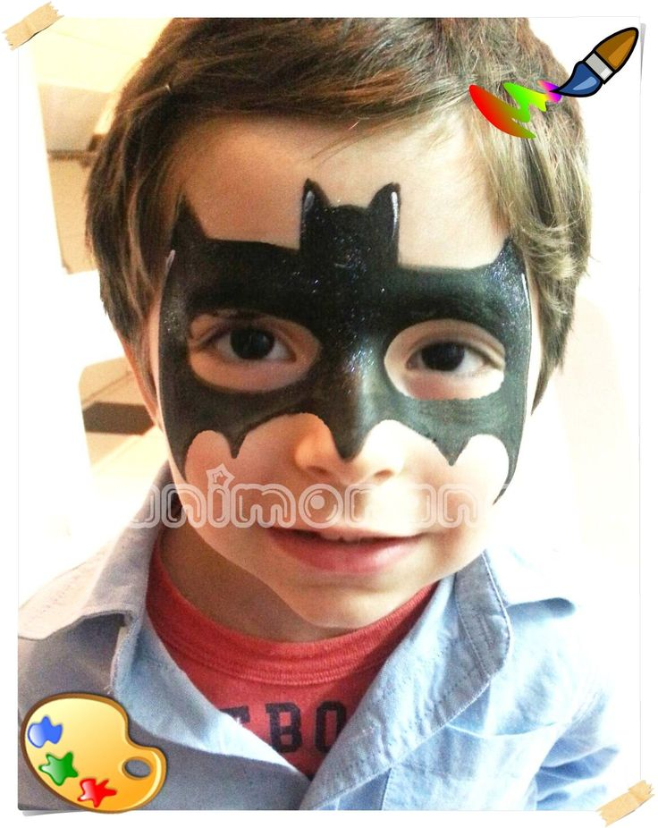 Pintura facial Batman Face Painting Batman