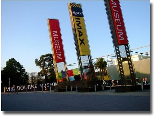 Melbourne Museum and The Imax Theatre