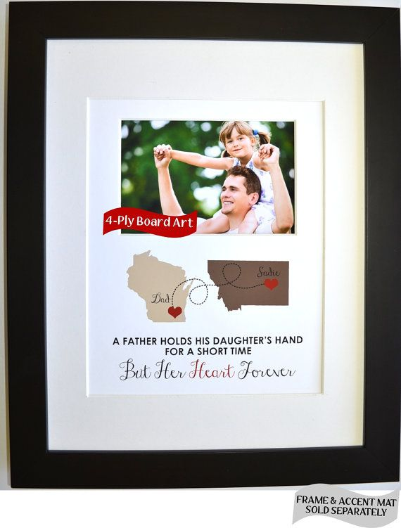 Fathers day gift personalized fathers day gift from for Christmas gifts for dad from daughter
