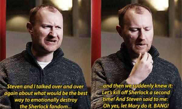 The evil plan to destroy the Sherlock fandom - I'm sorry but I actually love them! No one else can screw with my emotions but make me happy about it and come back for more time and time again.