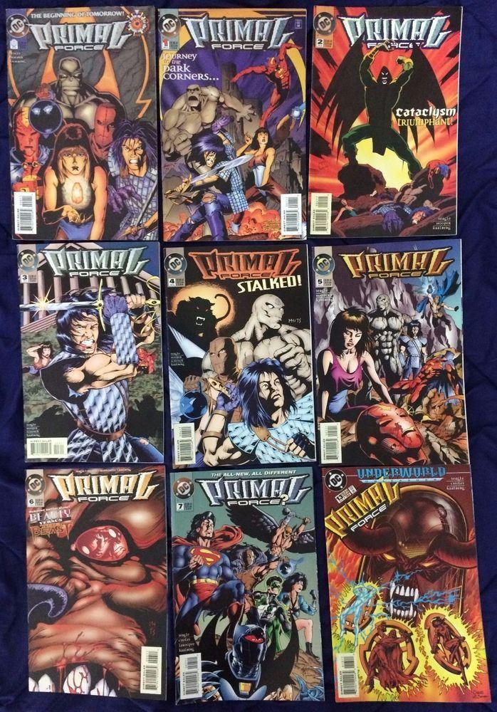 Primal Force 0-7,13 (1994) #DCComics FREE POSTAGE #Superman #JusticeLeague #Batman