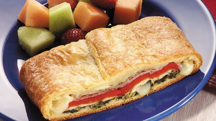 Add a new spark to weeknight sandwich-making!  Crescent rolls make oven-ready preparation possible in just minutes.