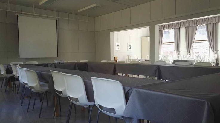 Willa Härkälä toimii tarvittaessa myös isompana kokoustilana.