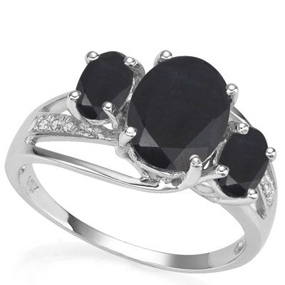 #1281 Today - Tomorrow- Forever Sapphire Ring