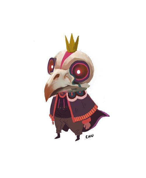 Bird King, Janice Chu on ArtStation at https://www.artstation.com/artwork/bird-king