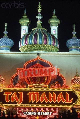 The Trump Taj Mahal Casino in Atlantic City, New Jersey