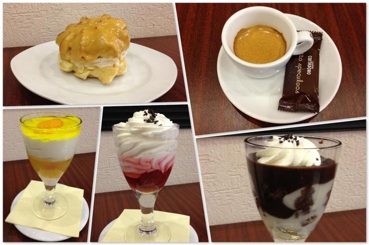 Desserts & espresso