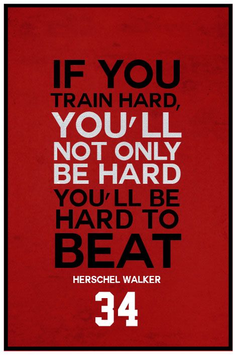 ''Herschel Walker Quote on Print. See more at www.finesportsprints.com #walker #sportsquote #bears''