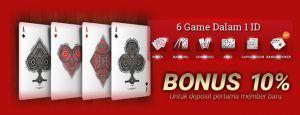 Kingqiuqiu - Agen Domino qiuqiu Deposit 10 rb Banyak Bonus new member 10 % dari deposit pertama, bonus turn over 0.5 % yang akan dibagikan setiap hari kamis dan bonus refferral 10 % seumur hidup