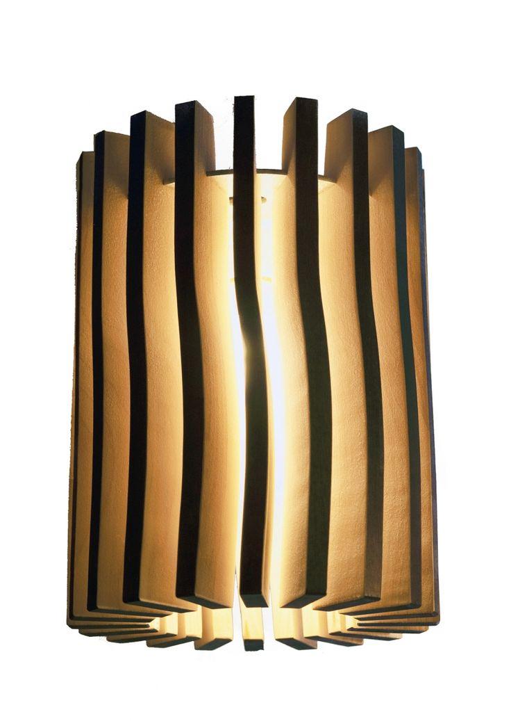 """Our lamp called """"Ukko"""". Finnish birch."""