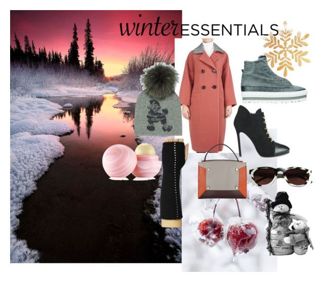 """Winter Essentials 2015"" by francesca-locatelli ❤ liked on Polyvore featuring Disney, Manurina, Lara Hampton and Eos"