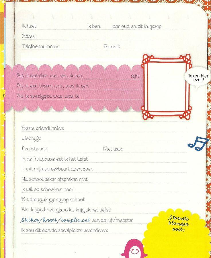 Klassenboek/Groepsboek