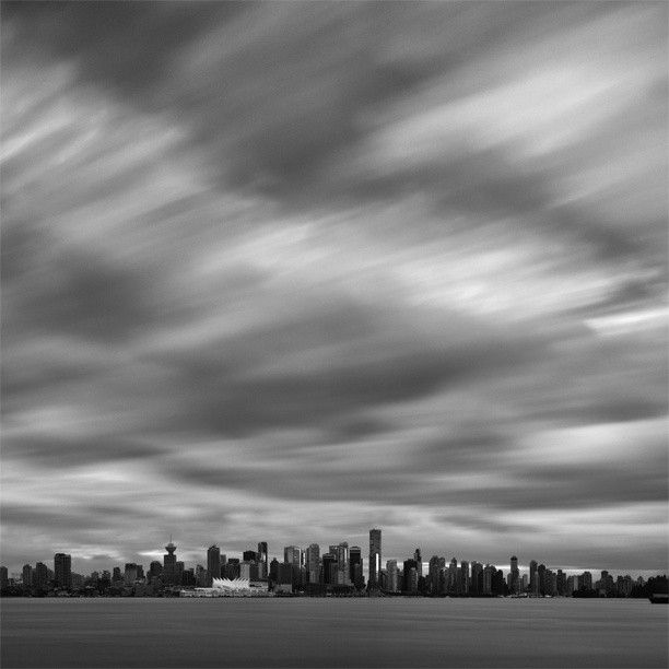 Vancouver on a Cloudy Day