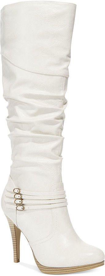 Your online source for white boots,white boots for women,white knee high boots,white mountain boots,whites boots andStyle&Co. Lindie Boots.