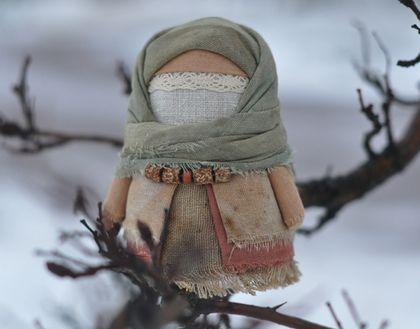 """Народные куклы ручной работы. Ярмарка Мастеров - Крупеничка """"...жизнь среди ветвей"""""""