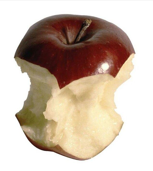 Apple Bitten Png Polyvore Moodboard Filler Credit To Cluelessotter Red Apple Png Apple