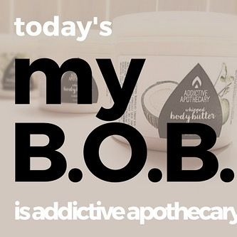 my B.O.B. @addictiveapothecary | Millicient Richardson is the free spirited Co-Owner of Addictive Apothecary. She finds herself always trying to help others whenever possible. Born in Washington D.C. and raised in Maryland Millicient currently lives in Clinton MD. Addictive Apothecary is ran from her home studio but Millicient has hopes of growing to one day have a brick and mortar location.  Addictive Apothecary started in 2013 and the memories Millicient has of those beginnings are…