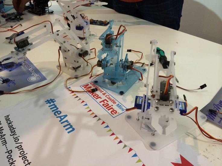 Building a hackable robotic arm