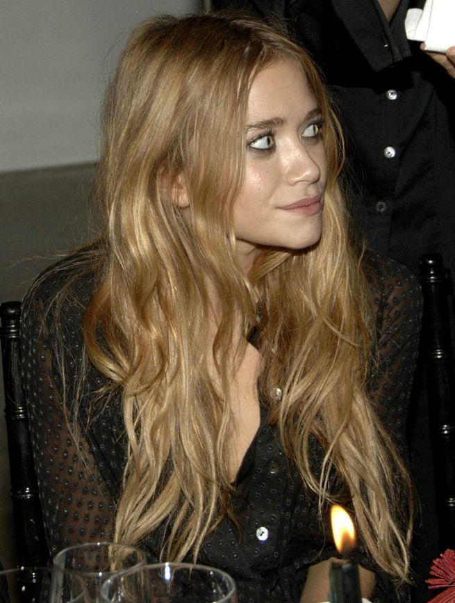 Olsen twin hair