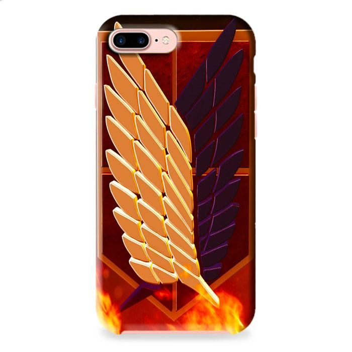Attack On Titan Logo iPhone 7 Plus 3D Case Dewantary