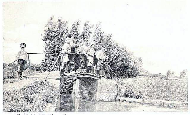 Kulkenbruggetje over de vaart 1820